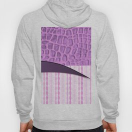2in1 Pattern Serena purple Hoody