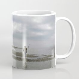 Man by the shore Coffee Mug