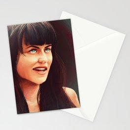 Warrior Princess Stationery Cards