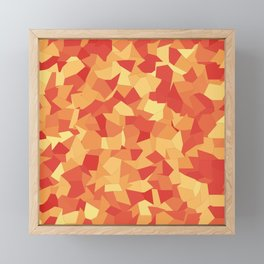 Fragments of Autumn Framed Mini Art Print