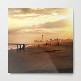 Coney Island Dreams Metal Print