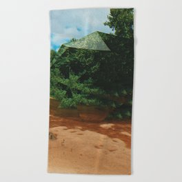 dotodc Beach Towel