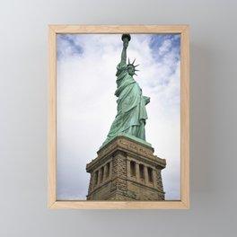 Lady Liberty Framed Mini Art Print