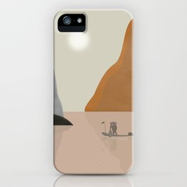 Chinese landscape iPhone Case