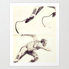 Oscar Pistorius Art Print