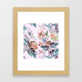 Romantic Garden Framed Art Print