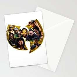 wu tang print Stationery Cards