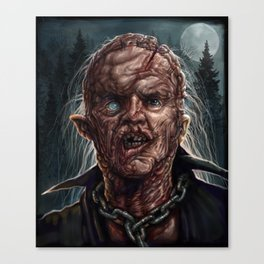 Jason Voorhees - Unmasked - Friday the 13th Canvas Print