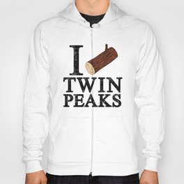 I Love Twin Peaks (Log) Hoody