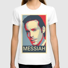 Baltar 'Messiah' design. Inspired by Battlestar Galactica. T-shirt