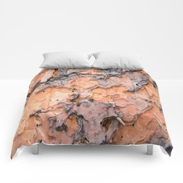 Fallen Bark rustic decor Comforters