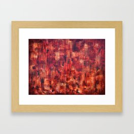 """""""Red Wine"""" by Simon Brushfield Framed Art Print"""