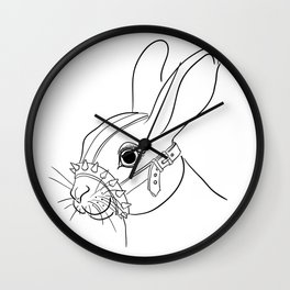BDSM Rabbit Wall Clock