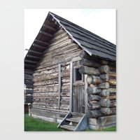 cabin Canvas Prints featuring Cabin by courtney2k ⚓ design™