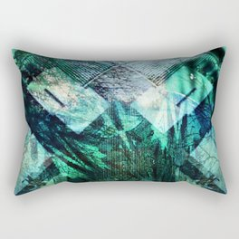 Green Demon Rectangular Pillow
