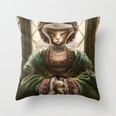 Anne of Sleeves Throw Pillow