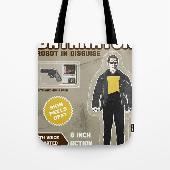 Datanator: Robot in Disguise Tote Bag
