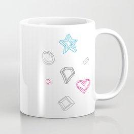 Hipster figures  Coffee Mug