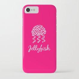 Jellyfish Pink iPhone Case