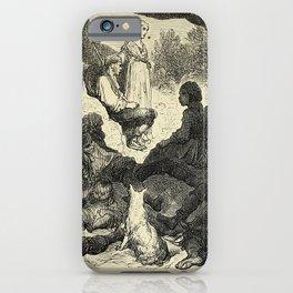 Gustave Doré - Spain (1874): A stopover for gypsies, near Zumárraga iPhone Case