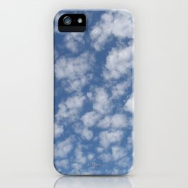 TEXTURES:Just Clouds #2 iPhone Case