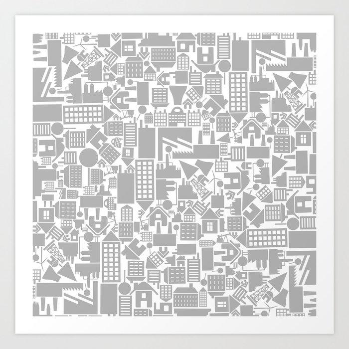 Architectural Background Art Print By Aleksander1 Society6