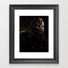 GOTHAM'S RECKONING S  Framed Art Print