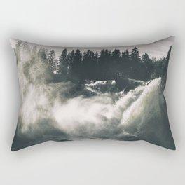 Waterfall #wallart Rectangular Pillow