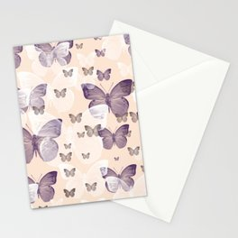 Butterfly emotions Stationery Cards
