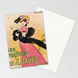 cartello les parfums de j. daver paris. 1903 Stationery Cards