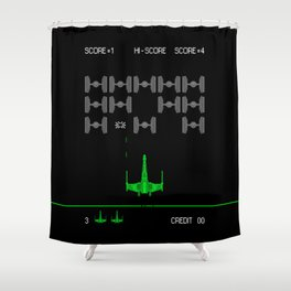 Star-Invaders Shower Curtain