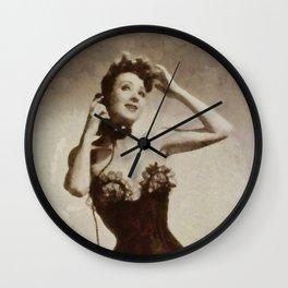 Gypsy Rose Lee Wall Clock