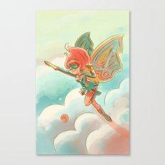 Goblins Drool, Fairies Rule! - Pixie Power Canvas Print