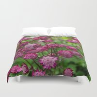 flower of life Duvet Covers featuring Life by Frenchie1108
