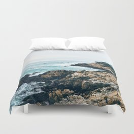 Standing on the Coast Duvet Cover