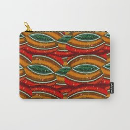 Red Tawny Green Locks Carry-All Pouch