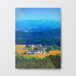 One summer day in the highlands Metal Print