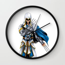 Assassin's Creed Logan Wall Clock