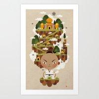 PRINCE POO'S PANNA Art Print
