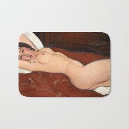 "Amedeo Modigliani ""Reclining Nude"" Bath Mat"