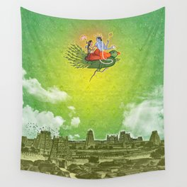 Dravidian Skies Wall Tapestry