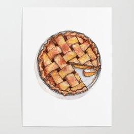 Desserts: Apple Pie Poster