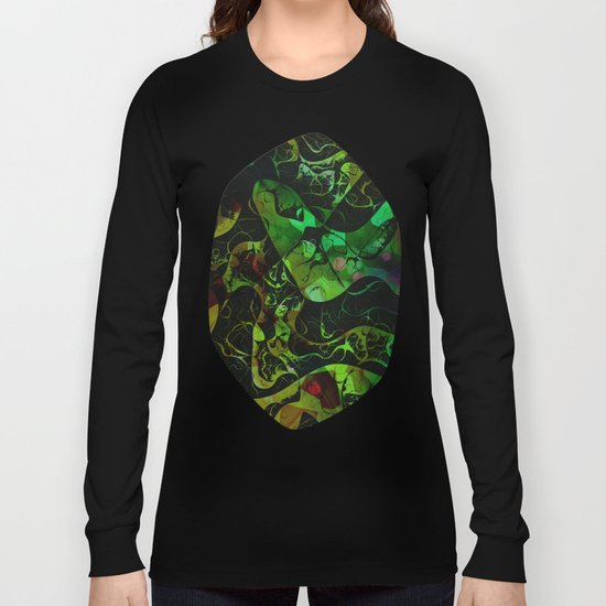 Abstract DM 03 Long Sleeve T-shirt
