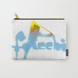 ghOsting a FLOWer Carry-All Pouch