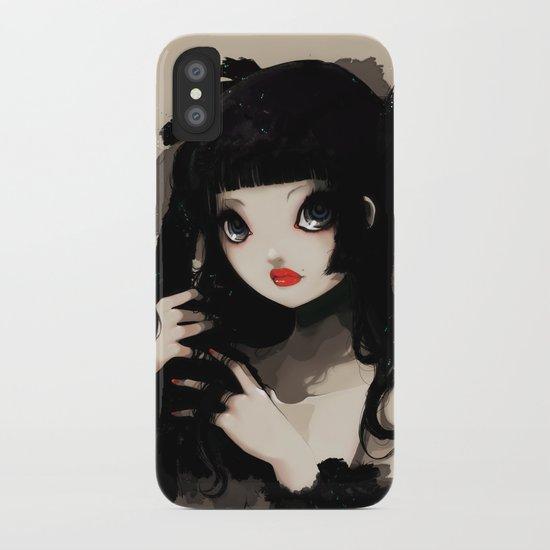 L'Oiseau silence iPhone Case