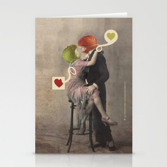 Loving Apple Stationery Cards