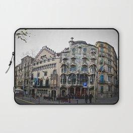 Batllo House, Barcelona, Catalunya, Spain, Antoni Gaudi Laptop Sleeve