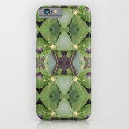 Almond Tree Pattern iPhone Case
