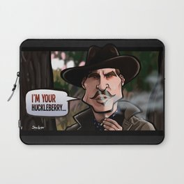 I'm Your Huckleberry (Tombstone) Laptop Sleeve