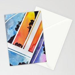 Deconstruction Stationery Cards